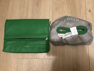 AU135 • Buy NEW Oroton Beuno Flat Over Leather Clutch/Crossbody - RRP$395