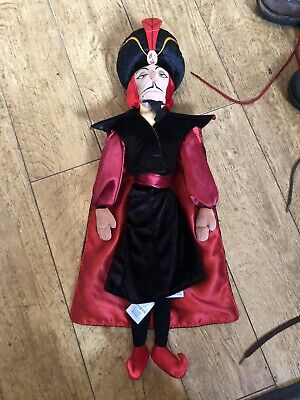 "Disney Store Aladdin Jafar Doll Soft Toy Plus 20"" • 9.99£"