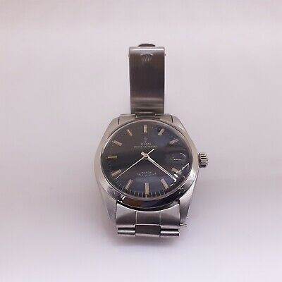 $ CDN2570.49 • Buy Vintage Rolex Tudor Prince Oysterdate Steel Automatic Black Oyster Watch 7996