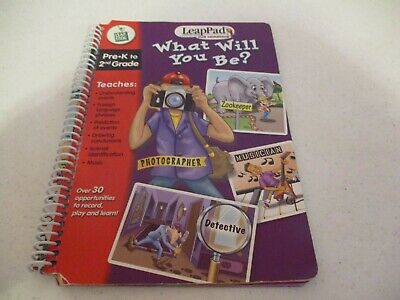 £2.15 • Buy Leapfrog-LeapPad-Plus Microphone-Book-What Will You Be?