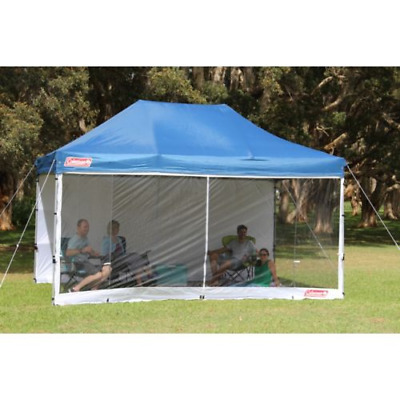 AU49.99 • Buy Coleman Deluxe Gazebo Wall Kit Mesh 3m X 4.5m Camping Hiking Outdoors Equipment