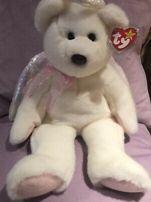TY Beanie Baby Halo Large 14  Brown Nose  Angel  1999 Great Condition • 200£