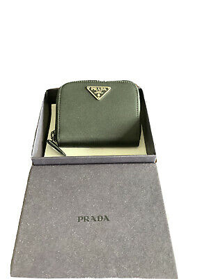 Prada Nylon And Leather Coin Purse BRAND NEW • 100£