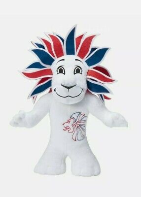 Olympic Official Mascots Team GB Mini Plush Pride The Lion 20cm • 19.99£