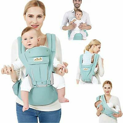 Viedouce Baby Carrier Ergonomic With Hip Seat/Pure Cotton Lightweight And • 59.99£