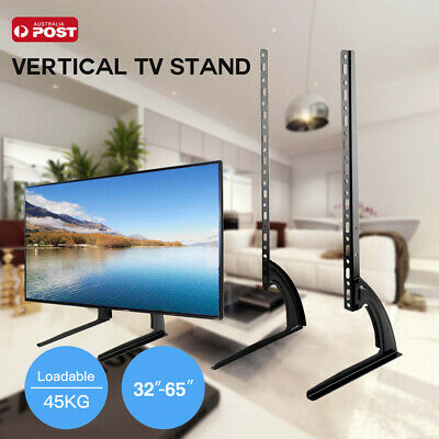 AU17.59 • Buy Table Top Universal Bracket Base VESA Pedestal Mount For 14 - 75   TV Stand AU