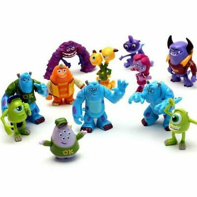 £9.98 • Buy 12X Monsters Inc University Sully Mike Animal Action Figure Gift Toy Cake Topper