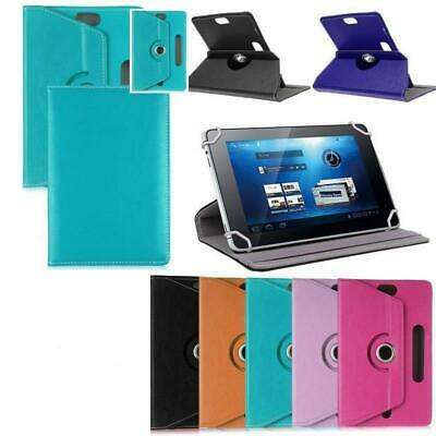 360 Degree Rotate PU Leather Case For HUAWEI Tablet 7  10  Tab PC Stand Cover • 4.49£