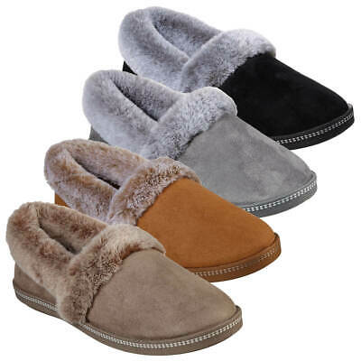 Skechers Womens Cozy Campfire Team Toast Slipper Comfort Flexible Shoes • 25.95£
