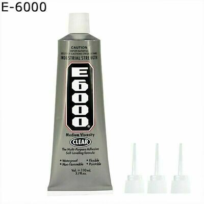 110ML E6000 Glue Industrial Strength Crafts Diy Rhinestones UK STOCK • 4.96£