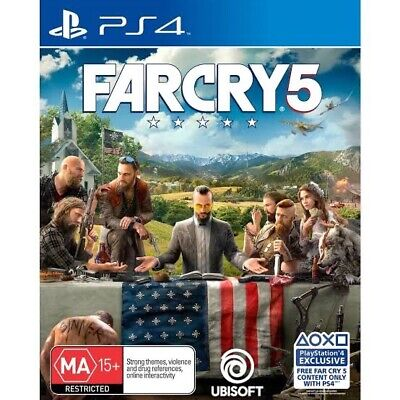 AU27.95 • Buy Far Cry 5 PS4 New Sealed In Stock FREE FAST DELIVERY