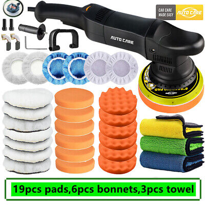 Dual Action Car Polisher DA Random Orbital Buffer Sander 6  Polishing Waxing Pad • 71.95£
