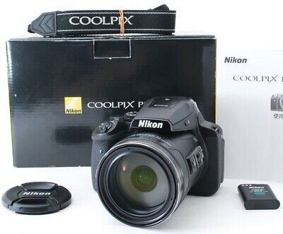 Nikon Coolpix P900 83x Zoom Lens Compact Digital Camera *mint *tested • 459£