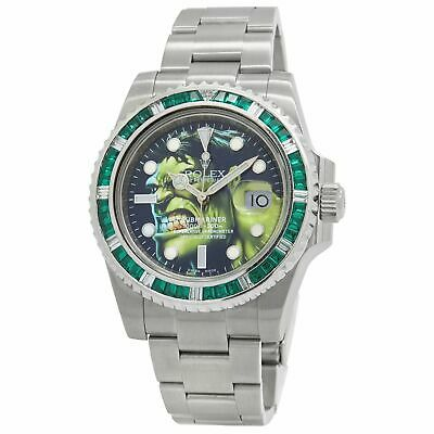 $ CDN15432.76 • Buy Rolex Submariner Date Custom Hulk Dial Automatic Men's Watch 116610
