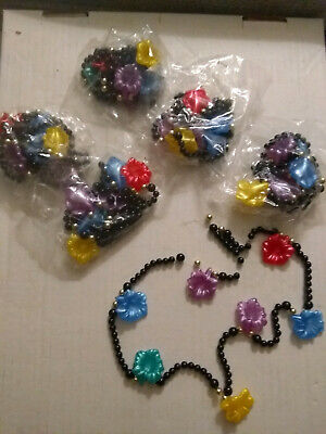 $ CDN9.34 • Buy Lot Of 6 Kids Necklaces. Party. Fun. Crafts. Flowers. Beads.