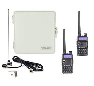 $ CDN1712.33 • Buy Long Range Wireless Remote Control Pumps Well, Lights, W 2 Portable 2 Way Radios