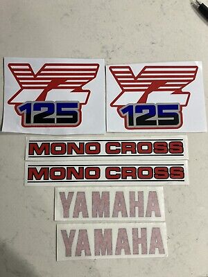 AU130 • Buy Yamaha YZ125 1986 Full Decal Set/ Sticker Kit
