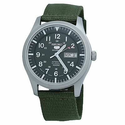 $ CDN177.62 • Buy Seiko 5 SNZG09J1 Automatic Green Dial And Band Mens Made In Japan Watch