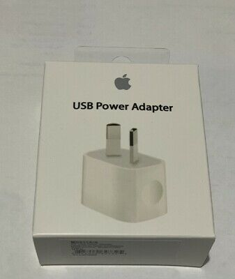 AU15.99 • Buy Genuine Apple IPhone 5W AC Wall Charger Adapter For 6 6s Plus 7 8 X 11 Pro IPad