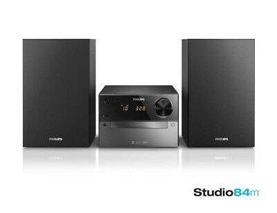 Philips BTM2310 Micro Stereo Audio System Hi-Fi With USB Bluetooth Remote - NEW • 99£