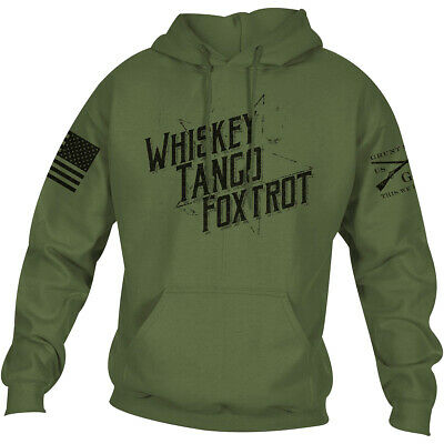 Grunt Style WTF II Pullover Hoodie - Military Green • 28.83£