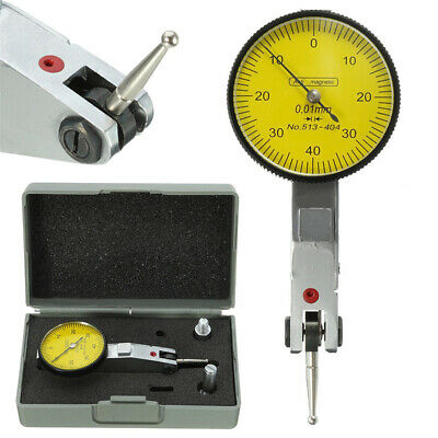 Dial Gauge Test Indicator Precision Metric With Dovetail Rails 0-40-0 0.01mm ·uk • 10.19£