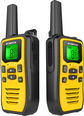 $ CDN56.67 • Buy Rechargeable Walkie Talkies For Adults Long Range Handheld Two Way Radio, 2 Way