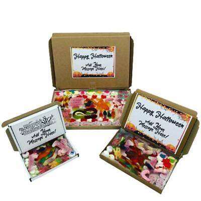 £4.99 • Buy Halloween Pic N Mix Sweets Box Hamper Gift Trick Or Treat Candy