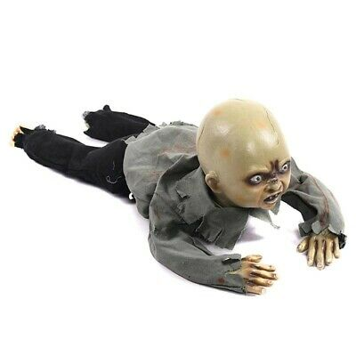 $ CDN75.74 • Buy Animated Crawling Baby Zombie Dolls Scary Haunted House Halloween Decorations 1#
