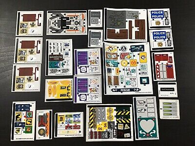 LEGO STICKER SETS 21 In TOTAL UNUSED • 1.49£