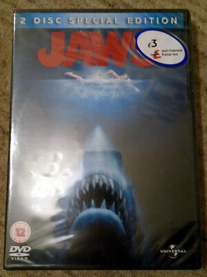 Jaws (1975) - 2-Disc Special Edition DVD - Region 2, 4 & 5 - New & Sealed • 4.99£