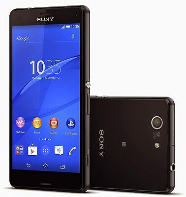 Sony Xperia Z3 Compact / Z3 Mini D5803 16GB Factory Unlocked Smartphone (Black) • 71.99£