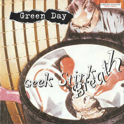 GREEN DAY 7  Geek Stink Breath   LIMITED RED VINYL 7  Never Played • 12.50£