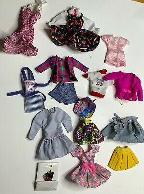 $ CDN26.65 • Buy Vintage Mattel Barbie Clothing Lot Mixed Jacket Dress Skirt Tops