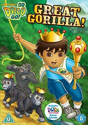 Go Diego Go - Great Gorilla! [DVD] - DVD  UYVG The Cheap Fast Free Post • 5.94£