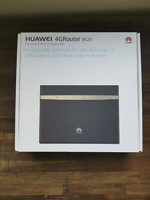 AU189 • Buy NEW SEALED IN BOX - Huawei B525s-65a LTE 300 Mbps Mobile Wi-Fi Router (Black)