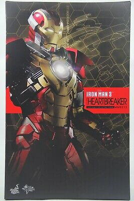 AU395.95 • Buy Hot Toys MMS-212 Iron Man 3 Heartbreaker Mark XVII 17 Collectible Figure
