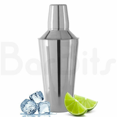 BarBits Cocktail Shaker Cocktail Making Set With Built In Strainer & Measure • 13.95£