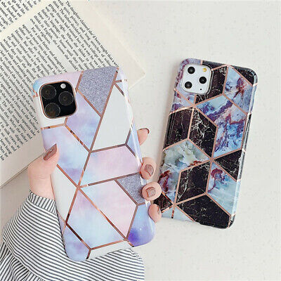 AU13.99 • Buy Case For IPhone 11 XR XS MAX 8 7 6 Plus ShockProof Marble Phone Cover Silicone