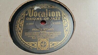 Beale Street Washboard Band Piggly Wiggly & Fourty And Tight Vocalion V1016 • 6.99£