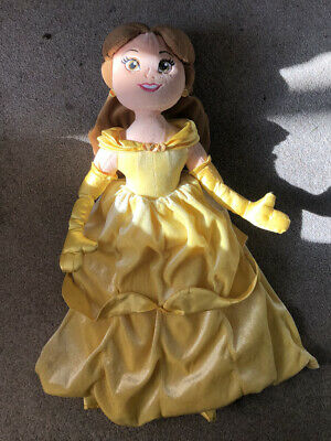 DOLL Belle PRINCESS Soft Plush Toy DISNEY Store • 5£