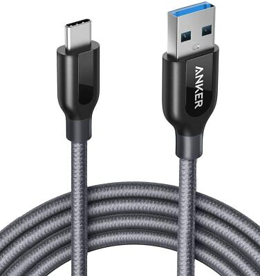 AU29.21 • Buy Anker PowerLine+ USB-C To USB 3.0 Cable (6ft/1.8m), High Durability, For USB