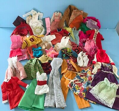 $ CDN75.01 • Buy Vintage 1960's To 1970's Mattel Barbie & Skipper Doll Clothes Lot Some Tagged