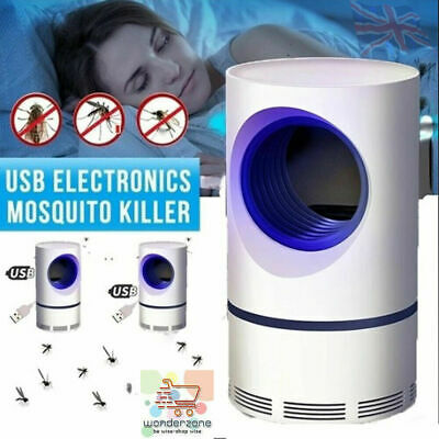 £21.99 • Buy Electric Insect Mosquito Fly Killer Bug Zapper UV Home Indoor Pest Catcher Trap