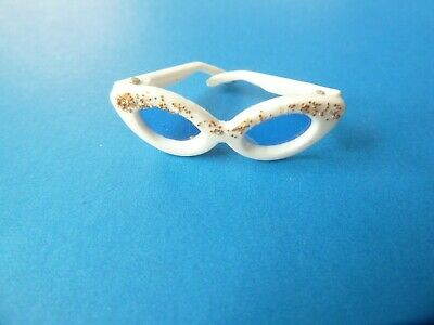 $ CDN21.99 • Buy Vintage Barbie White Sunglasses Glasses With Glitter From 1960's