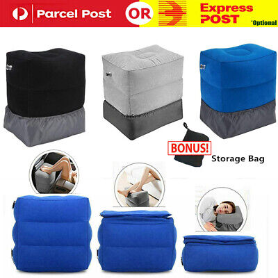 AU19.85 • Buy Inflatable Foot Rest Cushion Travel Air Pillow Office Home Leg Footrest Relax AU