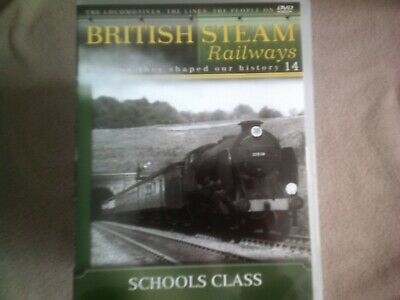 British Steam Railways #14 Schools Class*dvd*documentary*trains* • 2.98£