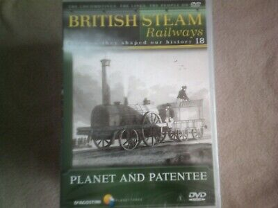 British Steam Railways #18 Planet And Patentee*dvd*documentary*trains* • 2.98£