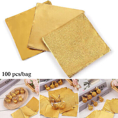 £2.44 • Buy Gilded Tin Food Package Paper Aluminum Foil Wrapping Paper Candy Chocolate