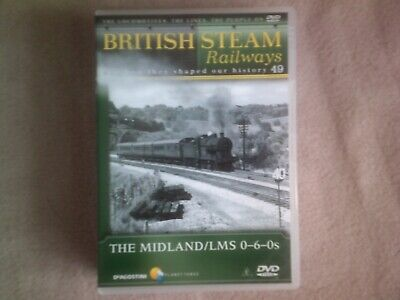 BRITISH STEAM RAILWAYS #49 THE MIDLAND/ LMS 0-6-0s*DVD*DOCUMENTARY*TRAINS*BSR • 2.98£